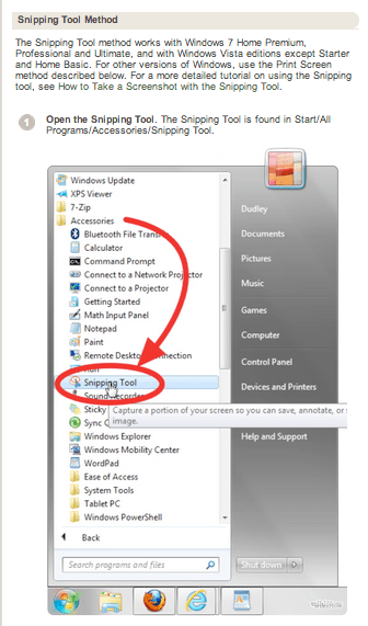 Snipping tool icon