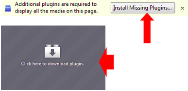 install missing plugins button