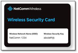 how to change wifi password netcomm wireless