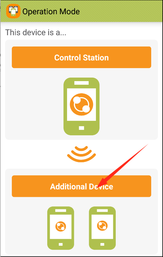 how to connect to device using ip address