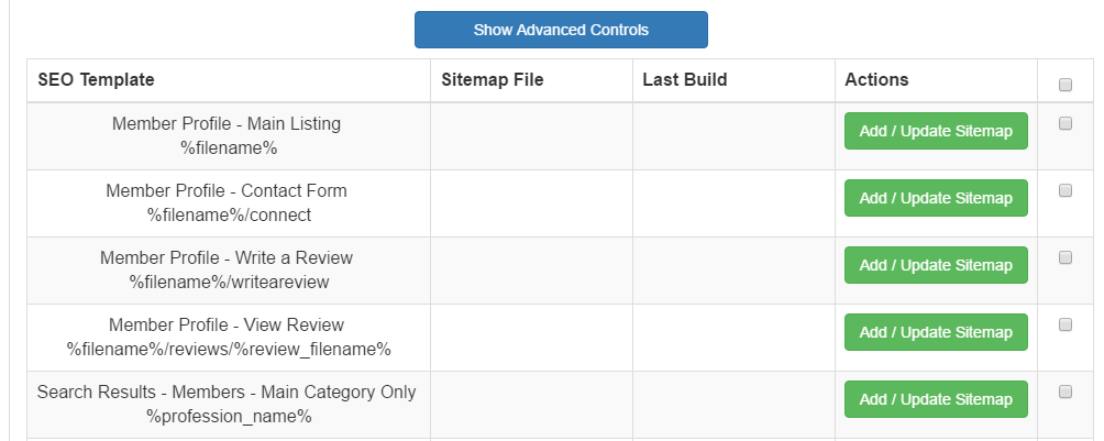 brilliant directories bootstrap how to create an xml sitemap for
