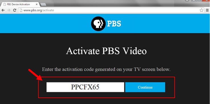 How do I activate the PBS app on my Roku device? : PBS Help