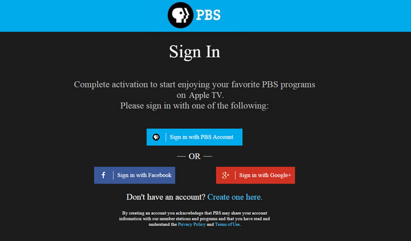 How do I activate PBS Passport on my Apple TV? : PBS Help