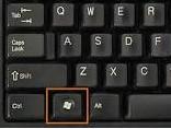screenshot of the windows key