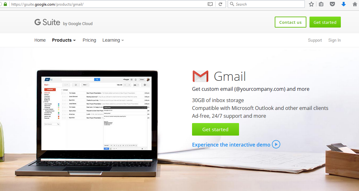 Brilliant Directories How To Setup A G Suite Account Gmail For