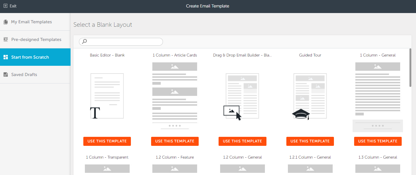 Step By Step Guide To Creating Emails Hatchbuck - 3 column email template