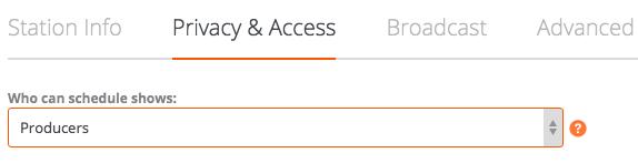 privacy & access