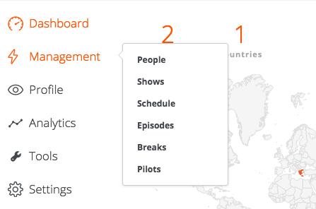 management - schedule