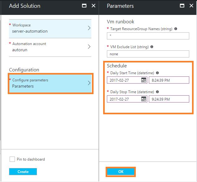 Scheduled Virtual Machine Shutdown/Startup - Microsoft Azure