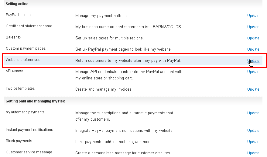 PayPal integration - Let customers pay without a PayPal account