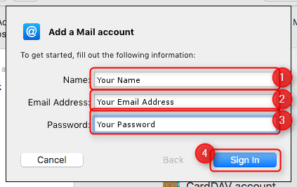 Mac Mail 10 : Helpdesk