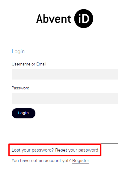 how to change id password