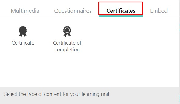 Create A Certificate Of Completion Learnworlds Help Center