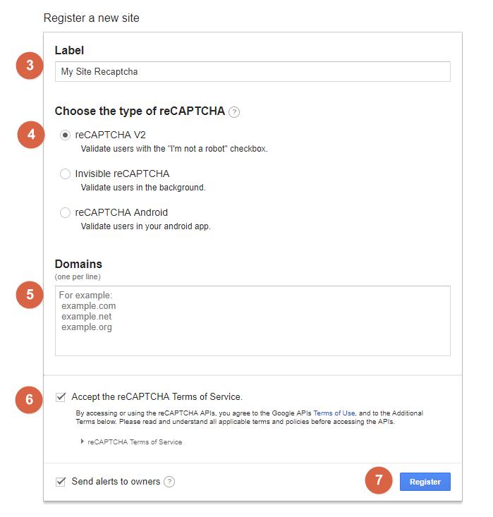 Brilliant Directories - Set Up Google reCaptcha Form