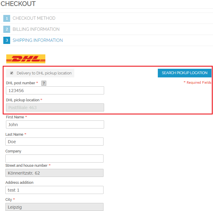 Dhl Pickup Locations >> What Is The Purpose Of The Location Finder Extension Dhl