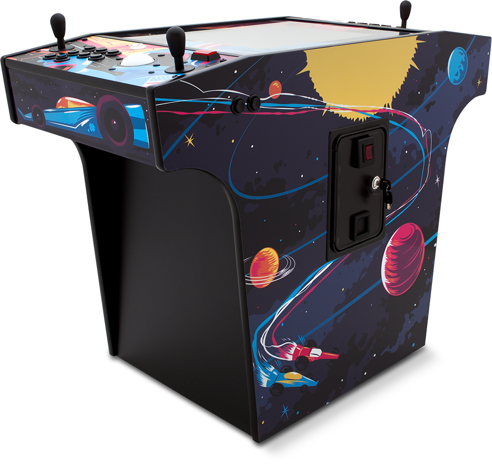 X-Arcade 'Space Race' Cocktail Setup Guide, Manual and
