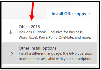 how to install office 365 apps