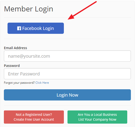 facebook log in sign up free