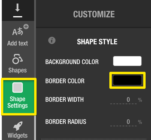8b2319d48f6 Tapping the bar of color will open the Flexitive Color Picker