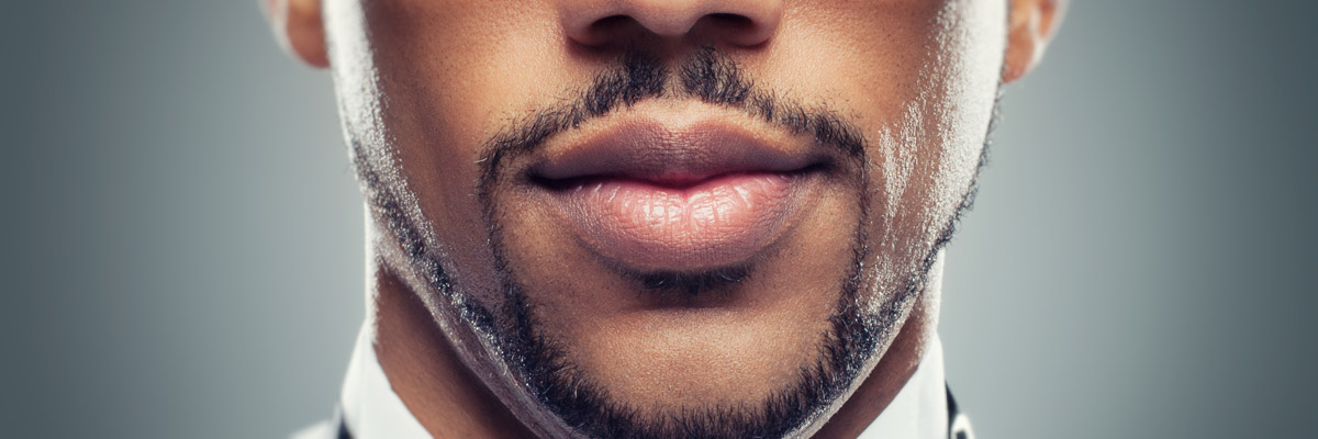 How to shave with facial hair