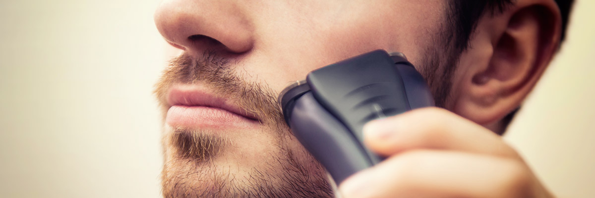 Is it OK to electric shave?