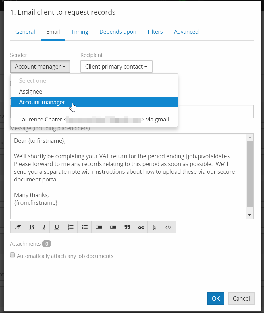 How to fix ' Unable to find sender user