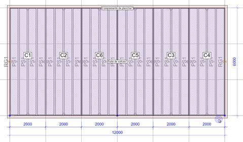 """Texte de remplacement généré par une machine: 2000  12 oo  2000  Compléments de p ancher*  cc  Suite de solives""""  2000  2000  2000  2000"""