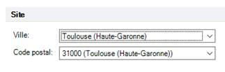 Texte de remplacement généré par une machine: Code pas tal  Toulouse (Haute-Garonne)  3 IDDO (Toulouse (Haute-Garonne))