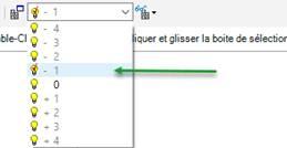 Texte de remplacement généré par une machine: ble_Cl  quer et glisser Iz boite de sélectior