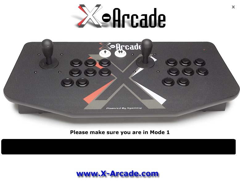 X-Arcade Test Program : Xgaming