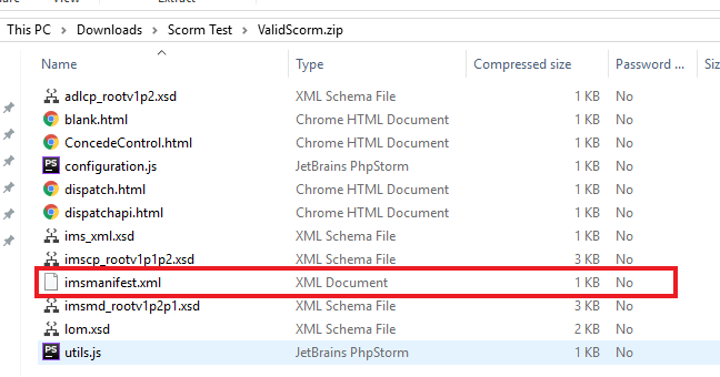 How to upload SCORM files and HTML5 packages in your course
