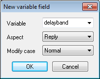 New vaariable field getting context aspect
