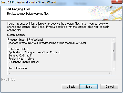 10 Install copying files