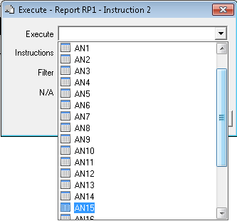Execute - Report RP1
