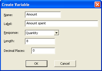 Create Variable