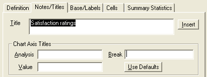 RD: Notes title tab showing satifaction ratings title