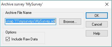 Archive My Survey