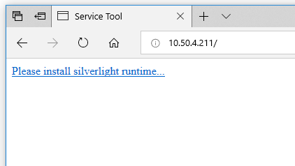 My browser is asking for Silverlight : Triax Technical Support