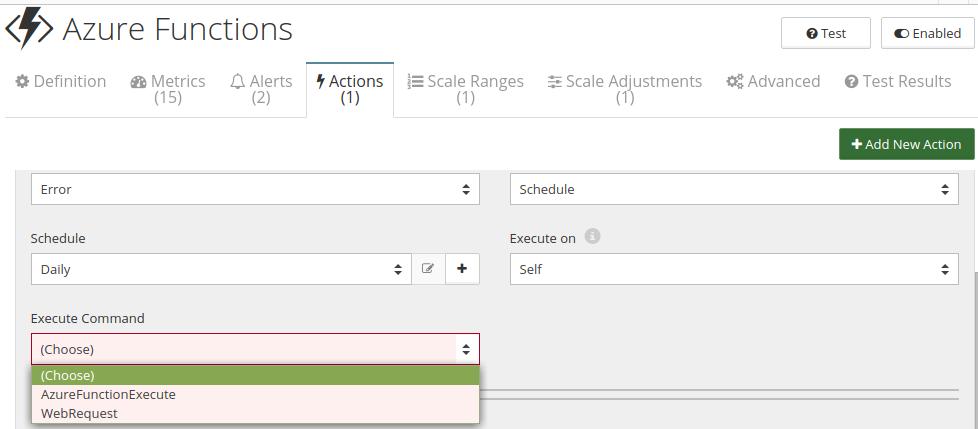 CloudMonix Azure Functions automation