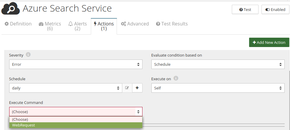 CloudMonix Azure Cognitive Search automation