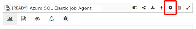 Resource monitoring settings
