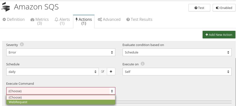CloudMonix Amazon SQS automation