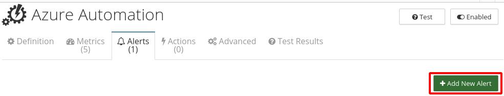 CloudMonix alerts for Azure Automation