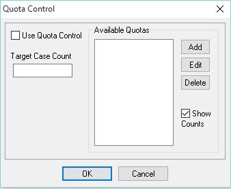 Quota control