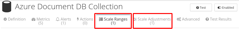Scale ranges & scale adjustments
