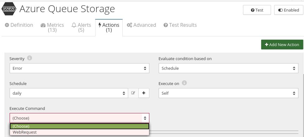 CloudMonix Azure Queue Storage automation