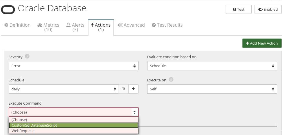 CloudMonix Oracle Database automation