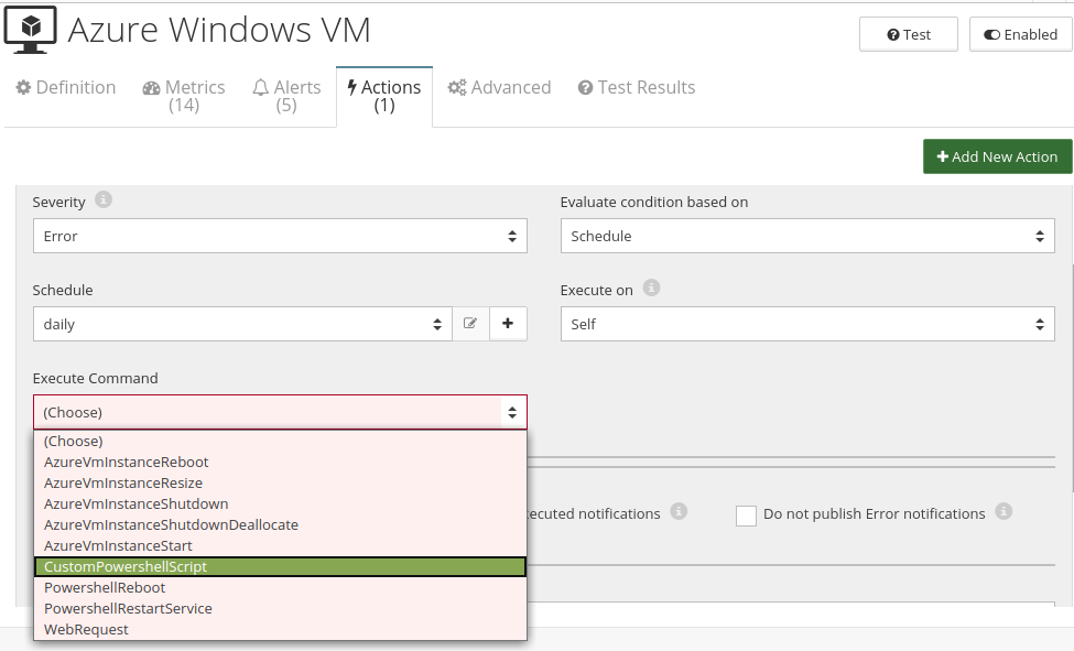 CloudMonix Azure Windows VM automation