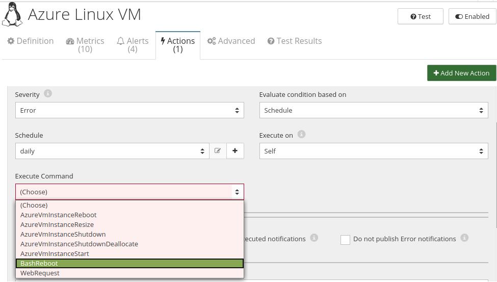 CloudMonix Azure Linux VM automation