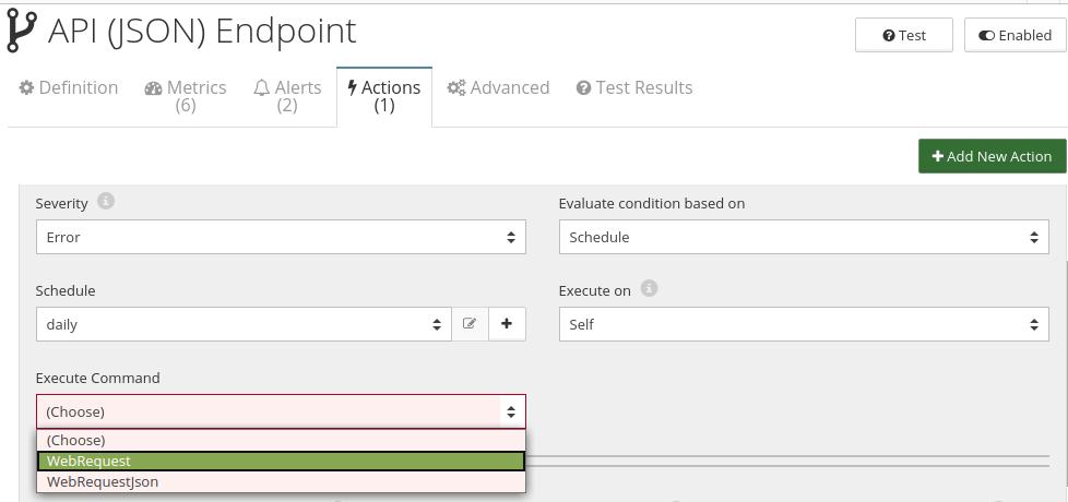 CloudMonix API (JSON) Endpoint resource automation